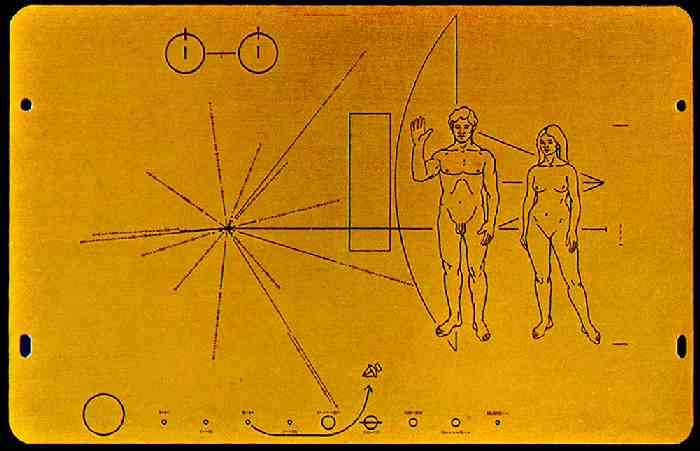 Pioneer Plaque A Message from Earth  Kickstarter